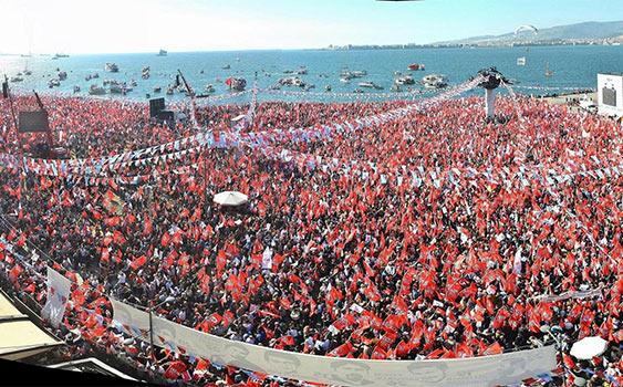 CHP 'kıyı partisi' unvanını sürdürdü