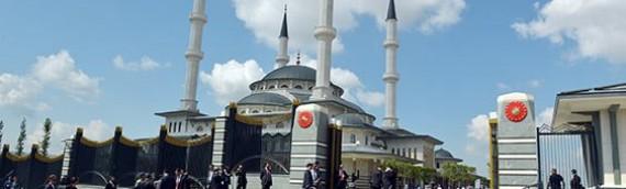 Cumhurbaşkanlığı Sarayı'na 'Millet' camisi
