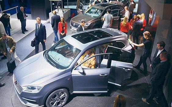 Frankfurt'ta rekor: 210 yeni model