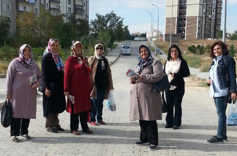 MHP Aksaray Kadın Kolları Seçimlere Damgasını Vurdu