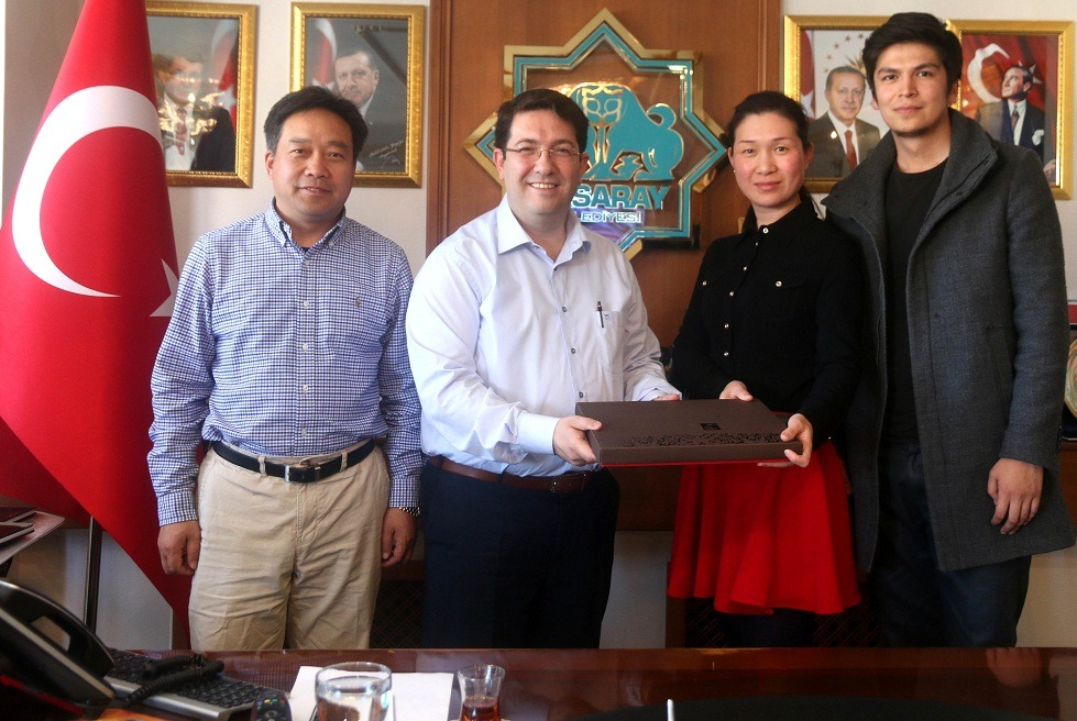 Başkan Yazgı'ya Çin'den ziyaret